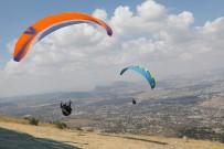 KAYNAR - Ali Dağı Türkiye Yamaçparaşütü Yarışmasında İlk Gün Sonuçları