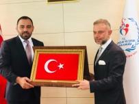 OLİMPİYAT ŞAMPİYONU - Başkan Ertürk'ten Efsane Güreşçiye Ziyaret