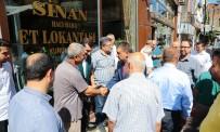 MESUT KARATAŞ - Başkan Gürkan Esnaflar İle Bir Araya Geldi