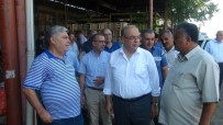 SEBZE HALİ - Belediye Başkanı Kutlu Hal Esnafıyla Bir Araya Geldi