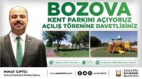 SıRA GECESI  - Bozova Kent Parkı İle Semt Pazarı Hizmete Sunuluyor