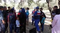 JANDARMA KARAKOLU - Çanakkale'de 64 Düzensiz Göçmen Yakalandı