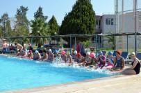 ANİMASYON - Çocuklar Yaz Spor Okuluyla Öğrenmeye Ve Eğlenmeye Devam Ediyor