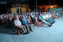 ÇEŞTEPE - Efeler'de 'Açık Hava Sinema Günleri' Başladı