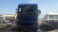 MADENİ YAĞ - Gaziantep'te Yediemin Otoparkında Yangın