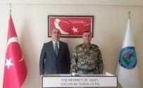 MEHMETÇİK VAKFI - Hava Meydan Komutanı Canbulat'tan Mehmetçik Vakfına Ziyaret