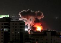 HAVA SALDIRISI - İsrail'den Gazze'ye Hava Saldırısı