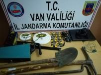 DİZÜSTÜ BİLGİSAYAR - Kaçak Kazı Yapan 5 Kişi Yakalandı