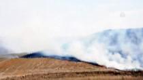 Kırıkkale'de Anız Yangını