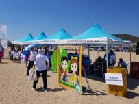 RESİM YARIŞMASI - Kıyı, Plaj Temizliği Çalışmaları Tüm Hızıyla Devam Ediyor