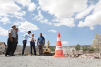 ERKILET - Kocasinan'da Yol Yapım Çalışmaları Devam Ediyor