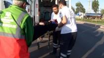 Konya'da Midibüs Devrildi Açıklaması 4 Yaralı