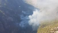 İLK MÜDAHALE - Köyceğiz'de Yeniden Başlayan Yangın Kontrol Altına Alındı