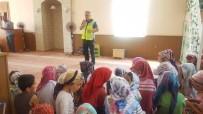 EMNİYET AMİRLİĞİ - Kur'an Kursu Öğrencilere Trafik Eğitimi