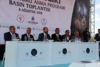 BILAL ERDOĞAN - Malazgirt Zaferi'nin 947'İnci Yıldönümü Kutlamaları Tanıtım Basın Toplantısı Yapıldı
