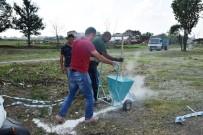CEPHANELİK - Tekirdağ'da Kurban Satış Noktasında Hazırlıklar Tamamladı