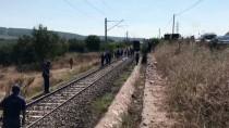 SOMA - Trenin Çarptığı 87 Yaşındaki Kişi Öldü