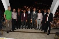 Tunceli'de Tayinleri Çıkan Hakim Ve Savcılar Vedalaştı