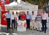 KREDI KARTı - Türk Kızılayı Vekaletle Kurban Kesim Kampanyası Başladı