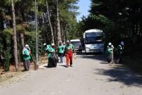 AKSARAY BELEDİYESİ - Aksaray'da Bayram Öncesi Mezarlıklarda Temizlik Çalışması Başlatıldı