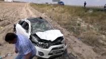 Aksaray'da Otomobil Devrildi Açıklaması 5 Yaralı