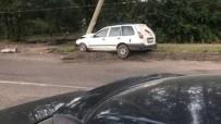 HONDA - Alkollü Direksiyon Başına Geçen 12 Yaşındaki Rus Çocuk Kaza Yaptı