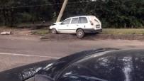 HONDA - Alkollü Direksiyon Başına Geçti Kaza Yaptı