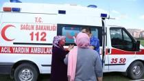 HULUSİ EFENDİ - Ambulans Helikopter Çorba Tenceresine Düşen Bebek İçin Havalandı