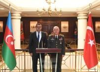 ORGENERAL - Azerbaycan'ın Ankara Büyükelçisi İbrahim, Orgeneral Güler'i Ziyaret Etti