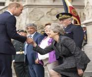 PRENS CHARLES - Başbakan May Reveransı Yine Fazla Kaçırdı