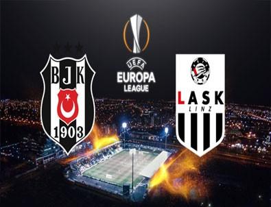 Beşiktaş Avrupa'da 3'te 3 yaptı! Beşiktaş 1-0 Lask Linz maç sonucu.