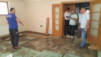 KRİZ YÖNETİMİ - Bolvadin'de Selden Etkilenen 320 Evde Çalışma Başlatıldı