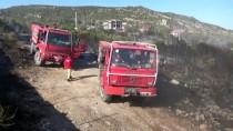 MAKİLİK ALAN - Çanakkale'de Makilik Alanda Yangın