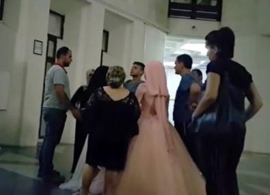 Düğün konvoyuna baskın: Damat gözaltına alındı
