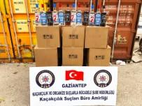 KAÇAK İÇKİ - Gaziantep'te Sahte Alkol Operasyonu