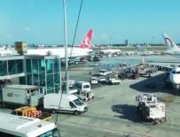 YUNANISTAN - Atatürk Havalimanı'nda kaza: THY uçağına çarptı