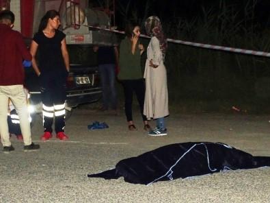 Hisarcık'ta otomobilin çarptığı kadın hayatını kaybetti!