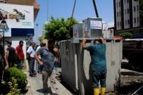 ÇÖP KONTEYNERİ - İskenderun'da Çöp Konteynerleri Yeraltına Alınıyor
