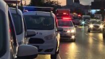 EDIRNEKAPı - Kağıthane'de Zincirleme Trafik Kazası Açıklaması 1 Ölü