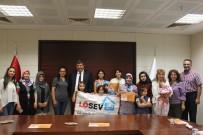 KARATAY ÜNİVERSİTESİ - Lösemili Çocuklar KTO Karatay Üniversitesinde Resim Yaptı