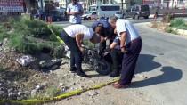 YOLCU TRENİ - Mersin'de Tren Elektrikli Bisiklete Çarptı Açıklaması 1 Ölü, 1 Yaralı