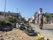 ELEKTRİKLİ BİSİKLET - Mersin'de Tren Kazası Açıklaması 1 Ölü, 1 Yaralı