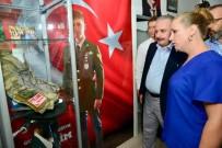 MUSTAFA ŞENTOP - Milletvekili Şentop'tan Şehit İşcan'ın Ailesine Ziyaret