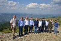 MUHAMMET ÖNDER - Milletvekili Ve Daire Başkanı, Gediz Muratdağı Termal Turizm Merkezi'nde İncelemelerde Bulundu