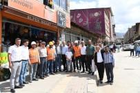 ULU CAMİİ - Muş'ta 'Sokak Sağlıklaştırma' Projesine Start Verildi