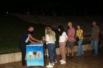 YEŞILÇAM - PAÜ Açık Hava Sinemasına Öğrencilerden Büyük İlgi