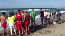 KADIR AYDıN - Sakarya'da Denize Giren Genç Dalgalara Kapıldı