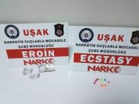 Uşak'ta Uyuşturucu Operasyonu; 15 Gözaltı