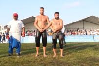 İSMAİL BALABAN - Arnavutköy'de Yağlı Güreşin Şampiyonu Hüseyin Gümüşalan