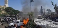 Zeytin Dalı Harekatı - Azez'de bomba yüklü araç patladı: 3 ölü